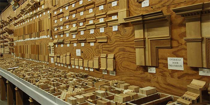 Driwood has more than 500 mouldings in stock