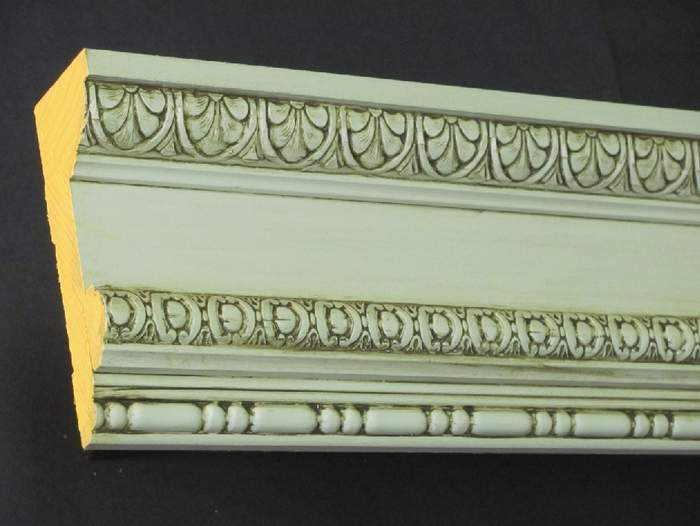 Driwood ceiling cornice assembly example