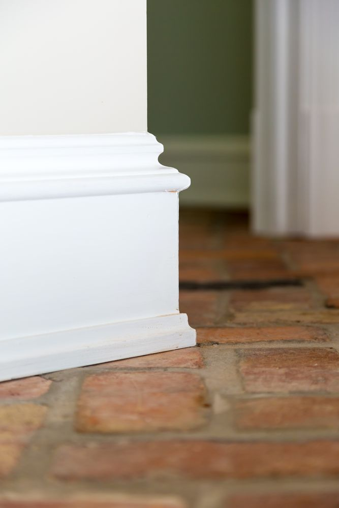 Baseboard moulding, Darlington, SC Farmhouse