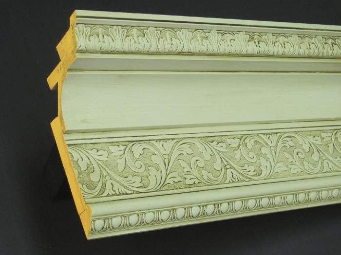 Driwood ceiling cornice assembly