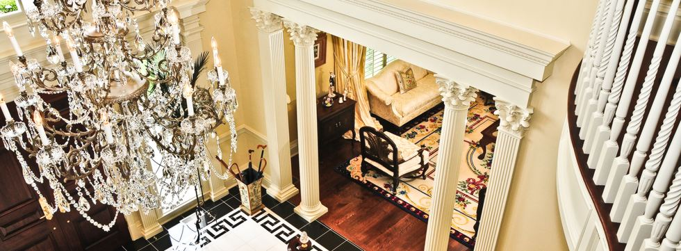Driwood creates beautiful mouldings for custom, traditional homes.
